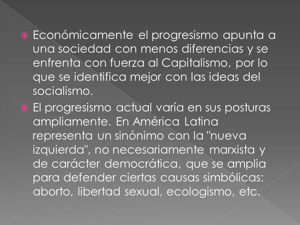 Reseña Histórica Tras la muerte de Gabriel García Moreno, los dos partidos políticos del Ecuador trataron de unificar su pensamiento hacia lo que se denominaría el progresismo a una suerte de conservadurismo liberal.