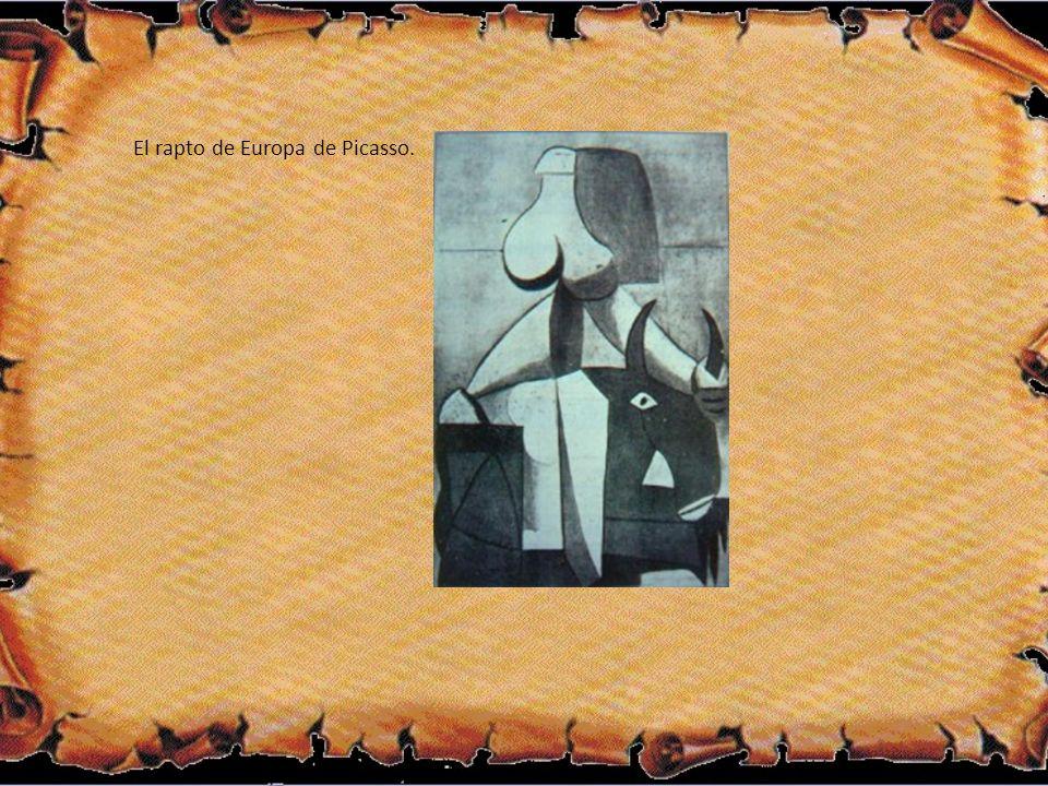 El rapto de Europa de Picasso.