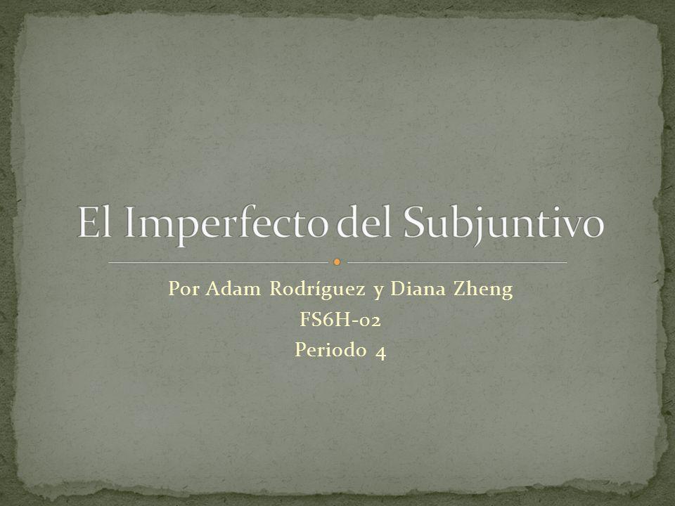 Hay tres pasos para formar el imperfecto del subjuntivo.