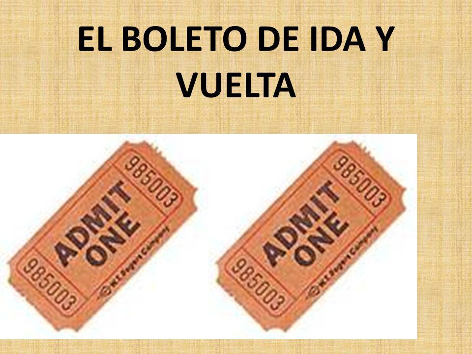 EL BOLETO SENCILLO