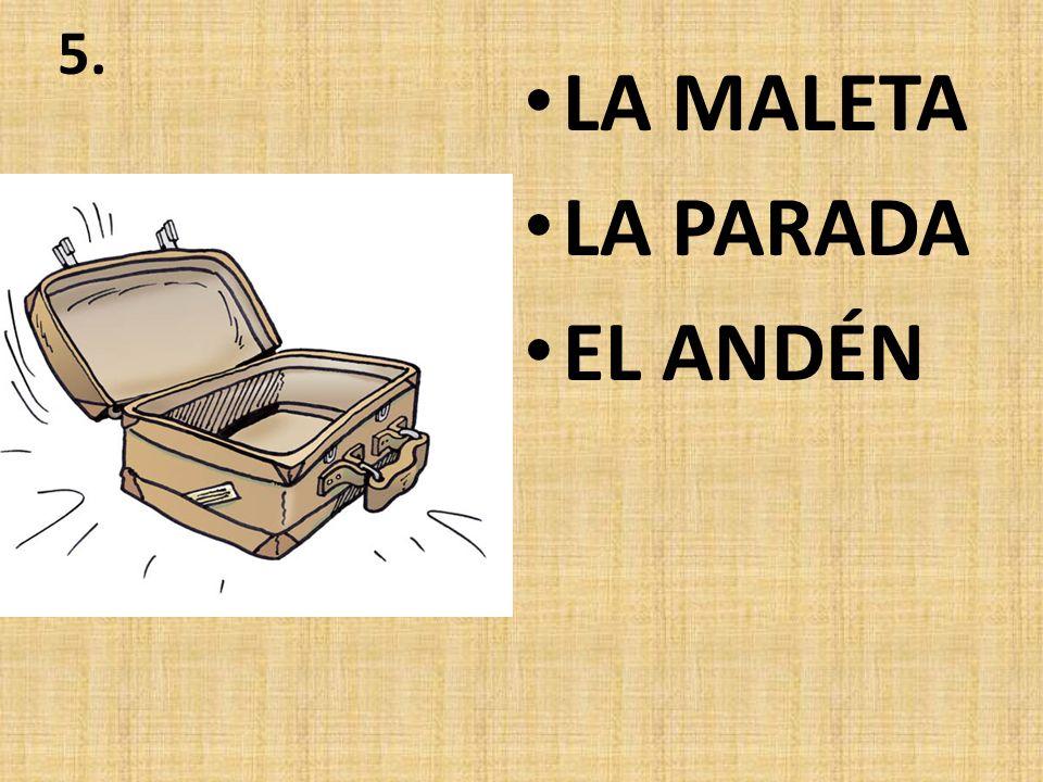 4. EL PASILLO EL TABLERO DE SALIDAS LA VENTANILLA