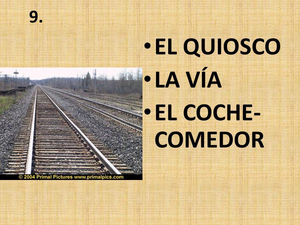 8. EL COMPARTIMIENTO EL REVISOR EL COCHE