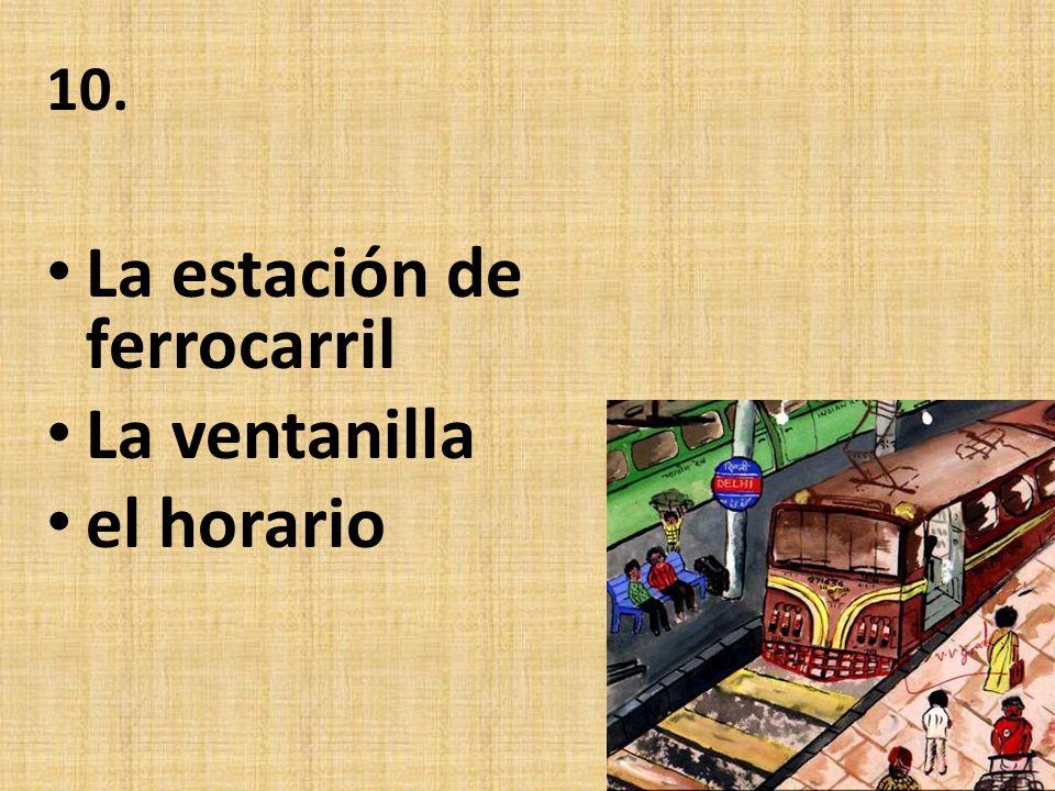 9. EL QUIOSCO LA VÍA EL COCHE- COMEDOR