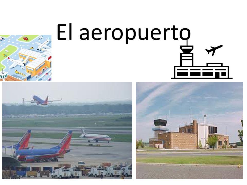El aeropuerto