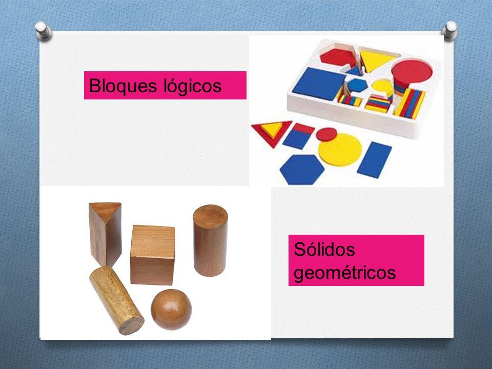 Sólidos geométricos Bloques lógicos