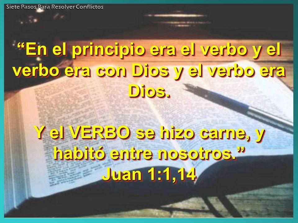 En el principio era el verbo y el verbo era con Dios y el verbo era Dios.En el principio era el verbo y el verbo era con Dios y el verbo era Dios. Y e