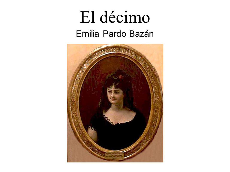 Emilia Pardo Bazán El décimo