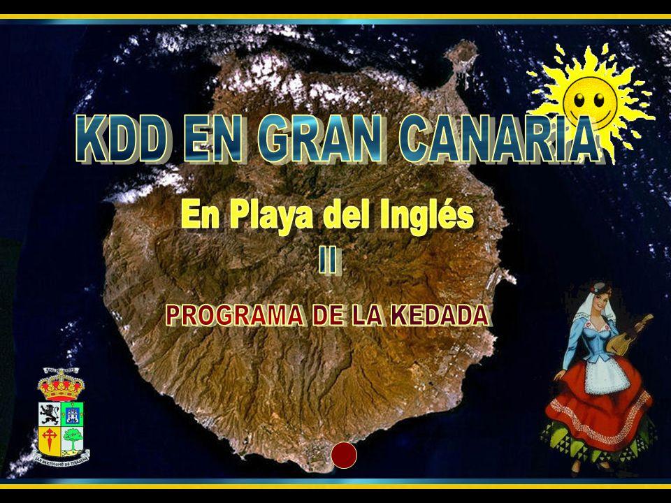 Para después dirigirnos a Puerto Rico y volver de regreso a Playa del Inglés
