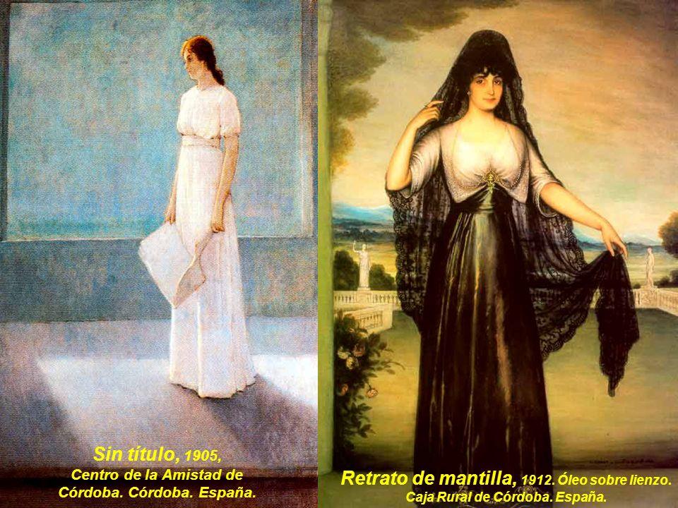 Nuestra Señora de Andalucía, 1907.Óleo sobre lienzo.