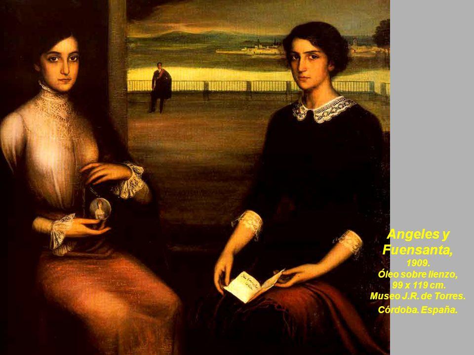 La saeta, 1908.Óleo sobre lienzo. 97 x 158,5 cm. Museo Nacional Centro de Arte Reina Sofía.