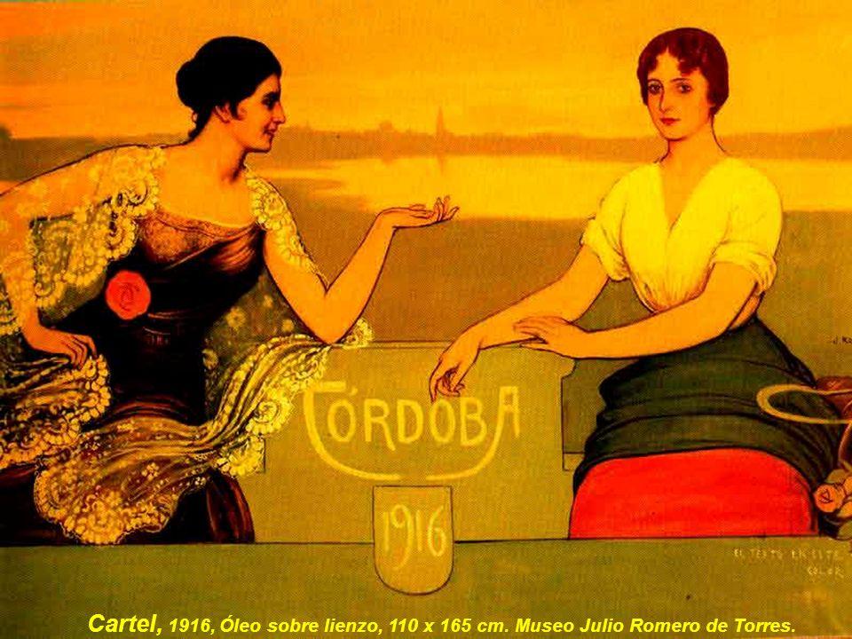 Gracia, 1915, Óleo y temple sobre lienzo, 203 x 218 cm, Museo Julio Romero de Torres
