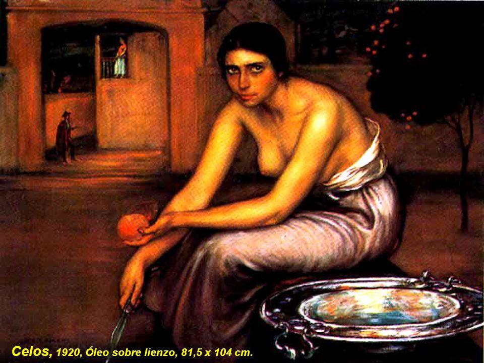 Contrariedad, 1919. Óleo sobre lienzo. 66 x 49 cm. Museo Julio Romero de Torres. Córdoba. España.