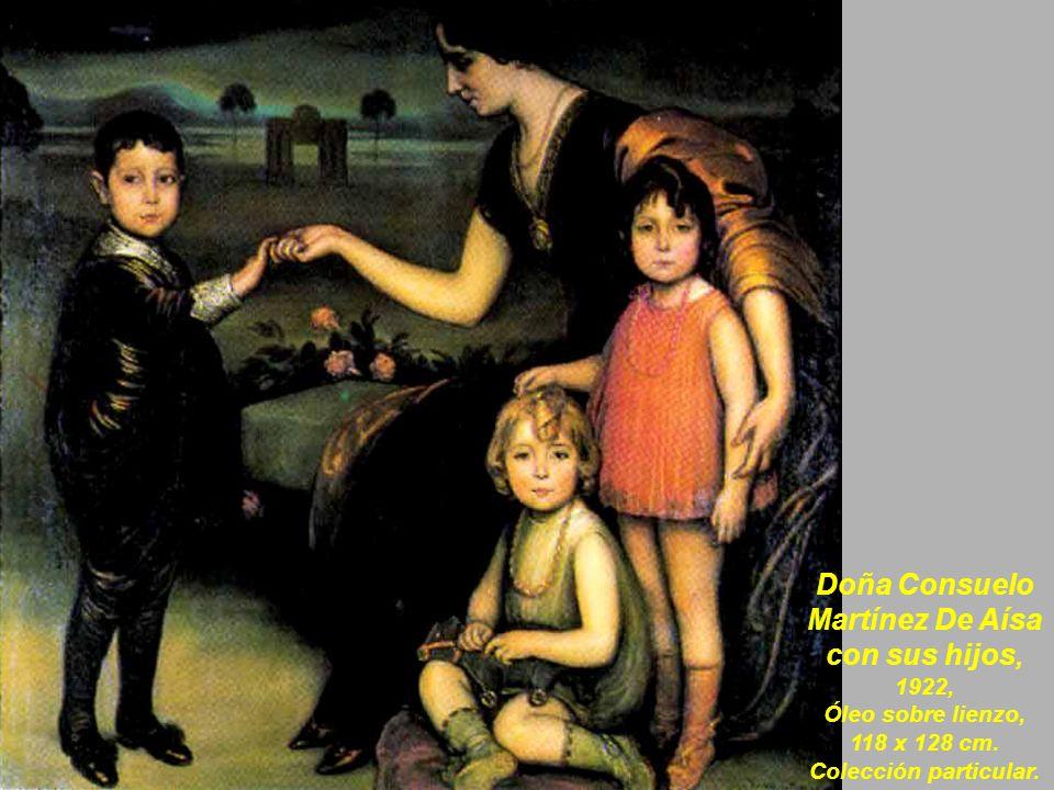 Celos, 1920, Óleo sobre lienzo, 81,5 x 104 cm.