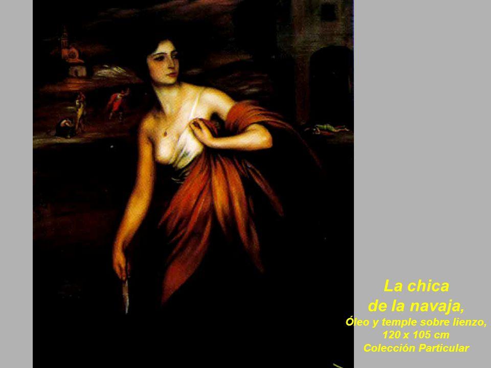 Doña Consuelo Martínez De Aísa con sus hijos, 1922, Óleo sobre lienzo, 118 x 128 cm.