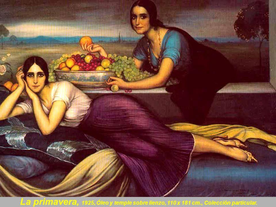 Magdalena, 1920. Óleo sobre lienzo. 56 x 79 cm. Museo Julio Romero de Torres. Córdoba. España.