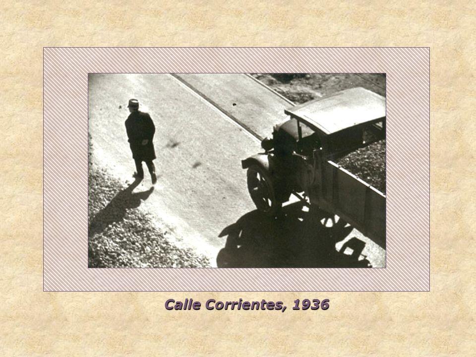 Nocturno. Calle Corrientes al 3000, 1936