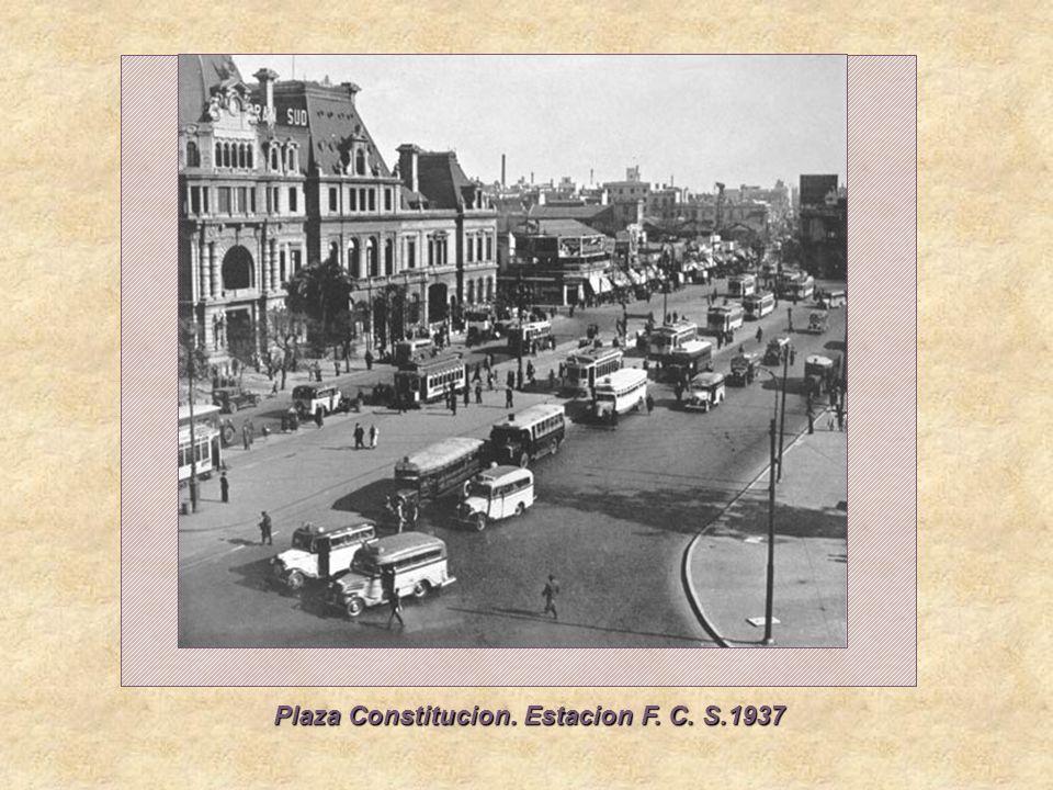 Rivadavia ente Salguero y Medrano, 1931