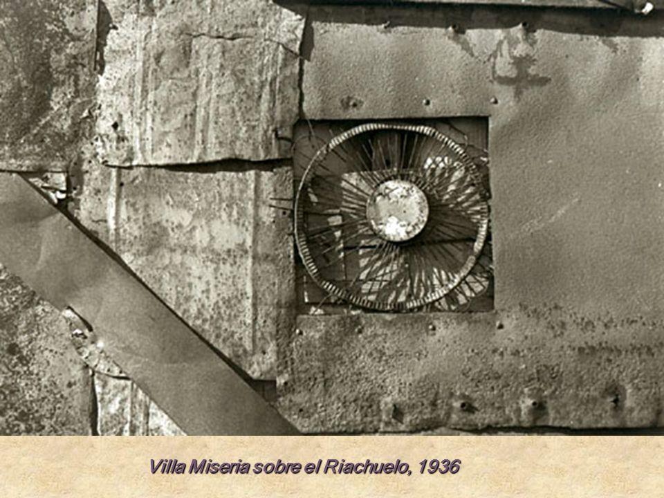 Villa Miseria sobre el Riachuelo, 1936