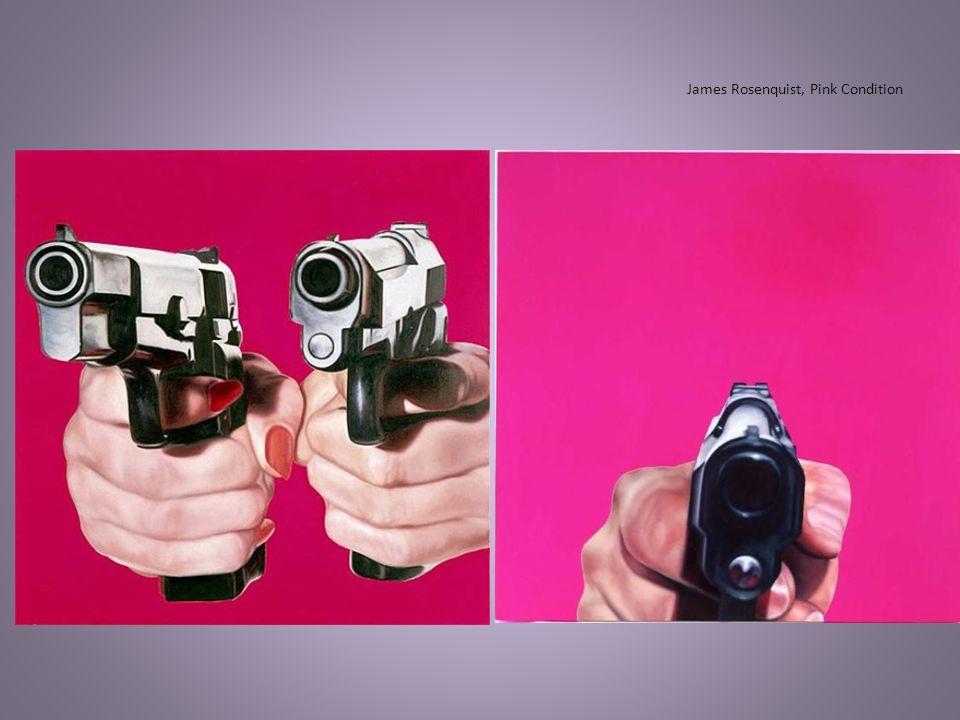 James Rosenquist, Pink Condition
