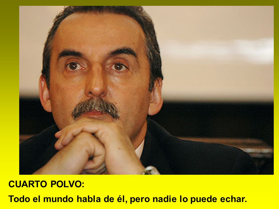GUISO DE POROTOS: Es candidato al pedo.
