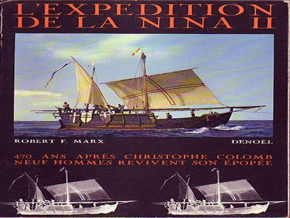La Niña, littéralement « l enfant », est une des caravelles de la première expédition de Christophe Colomb en Amérique, avec la Pinta et la caraque Santa Maria, découvrant la première route aller-retour entre le Nouveau Monde et lEurope.