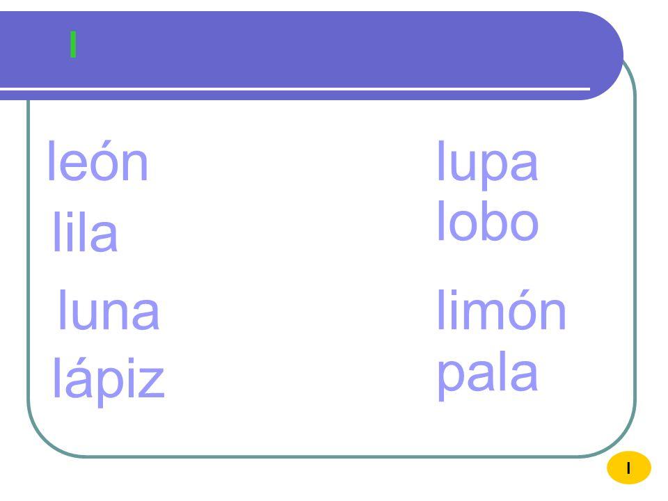 l L último ULTIM O ul I