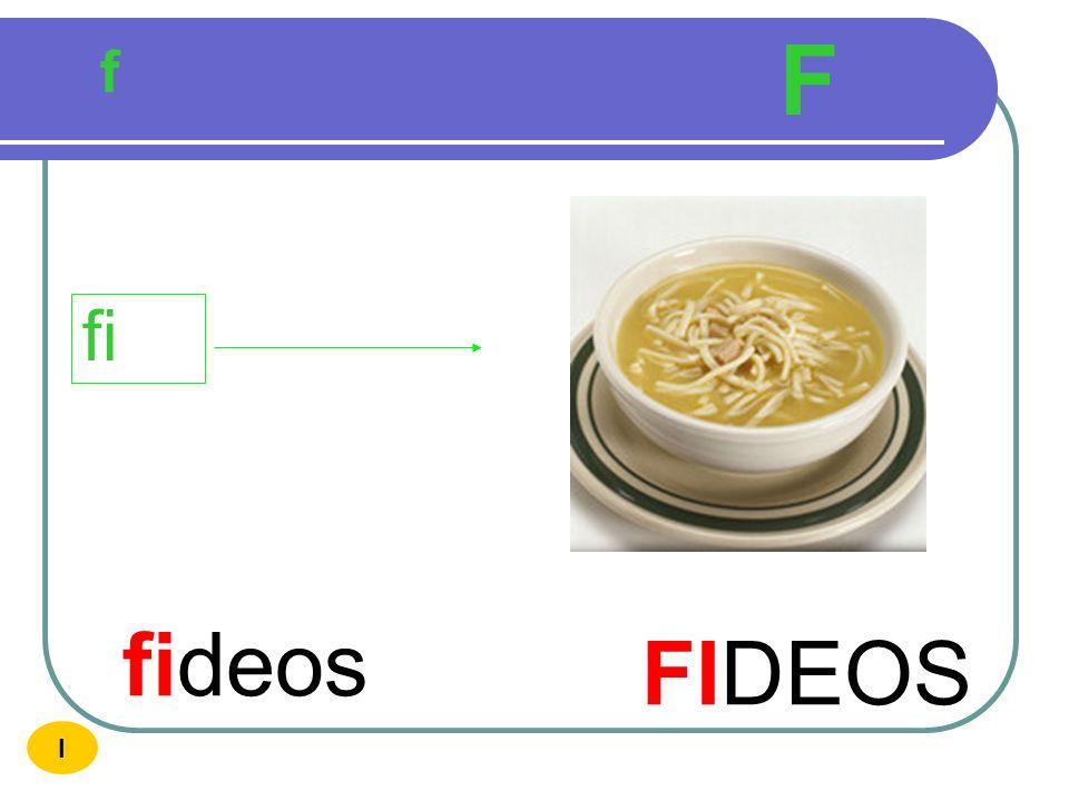 f F fiesta FIESTA fi I