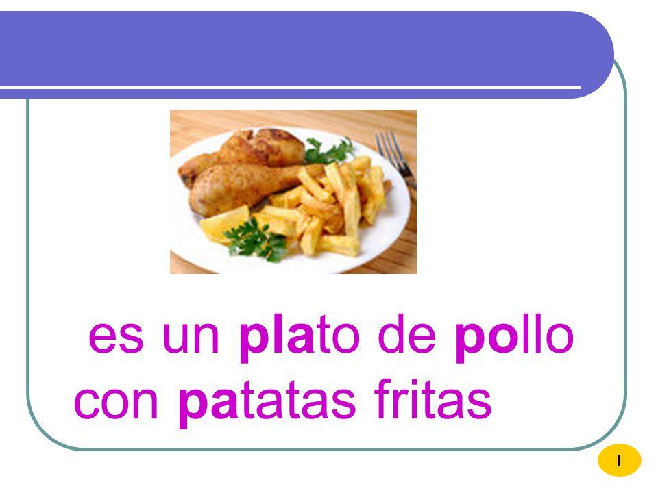 Me gustan las patatas con pimientos I