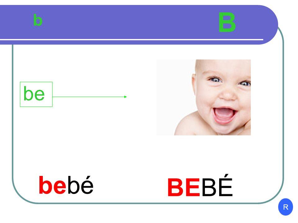 b B beber BEBER be I