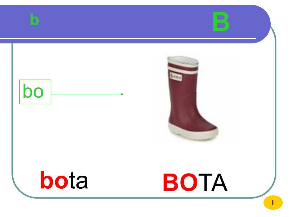 b B boca BOCA bo I