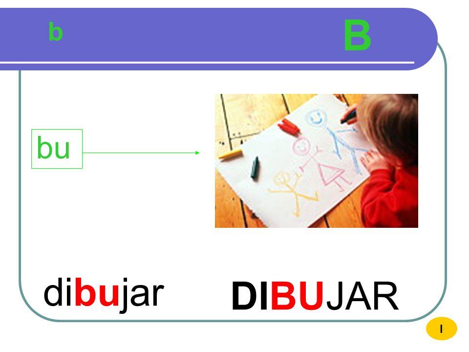 b B buho BUHO bu I