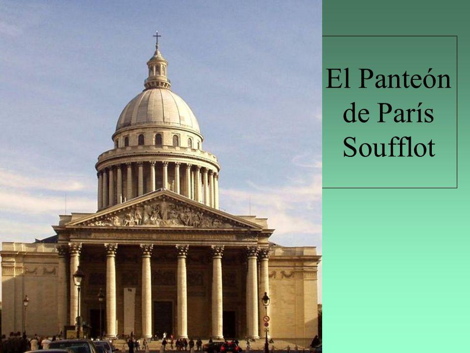 El Panteón de París Soufflot