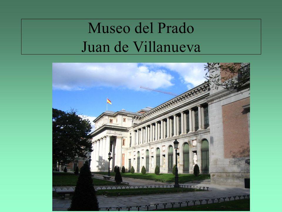 Museo del Prado Juan de Villanueva