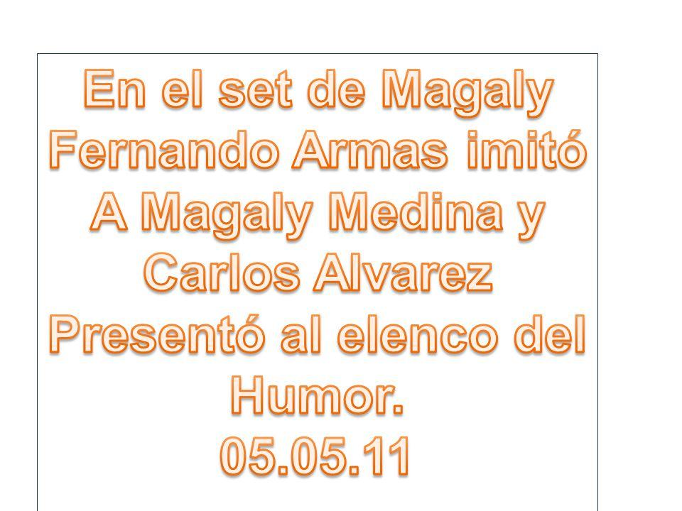Carlos Álvarez volverá con El estelar del humor a horario de los domingos El primer sketch se grabó hoy con la participación de Miguel Barraza, Lelo Costa y Fernando Armas.