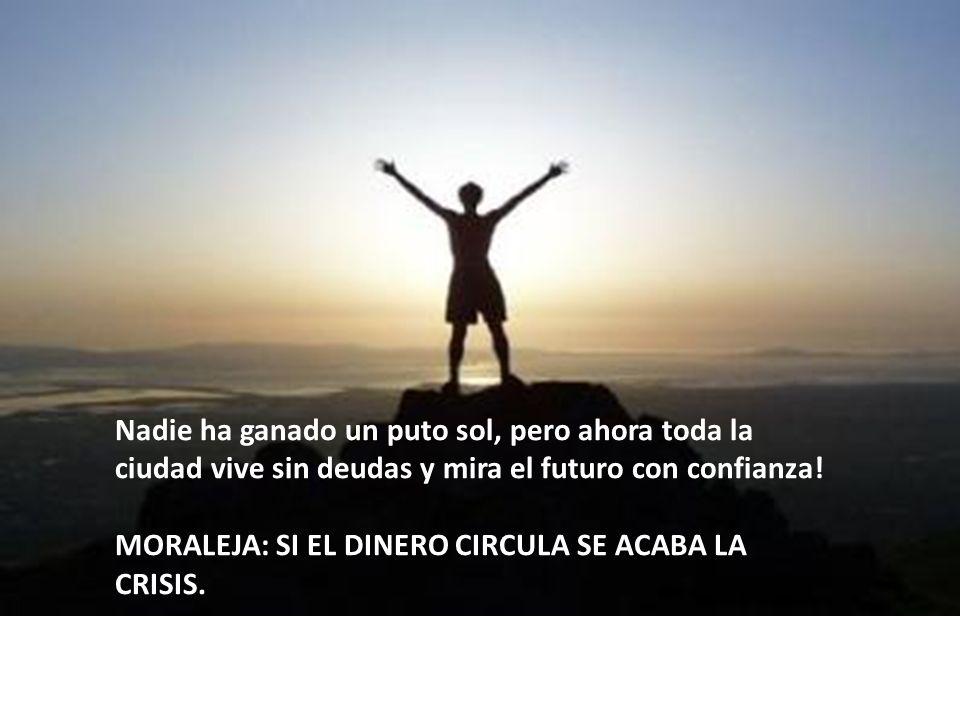 El agradecimiento a Jorge Villacorta Ramìrez por la clase de Economía Práctica.