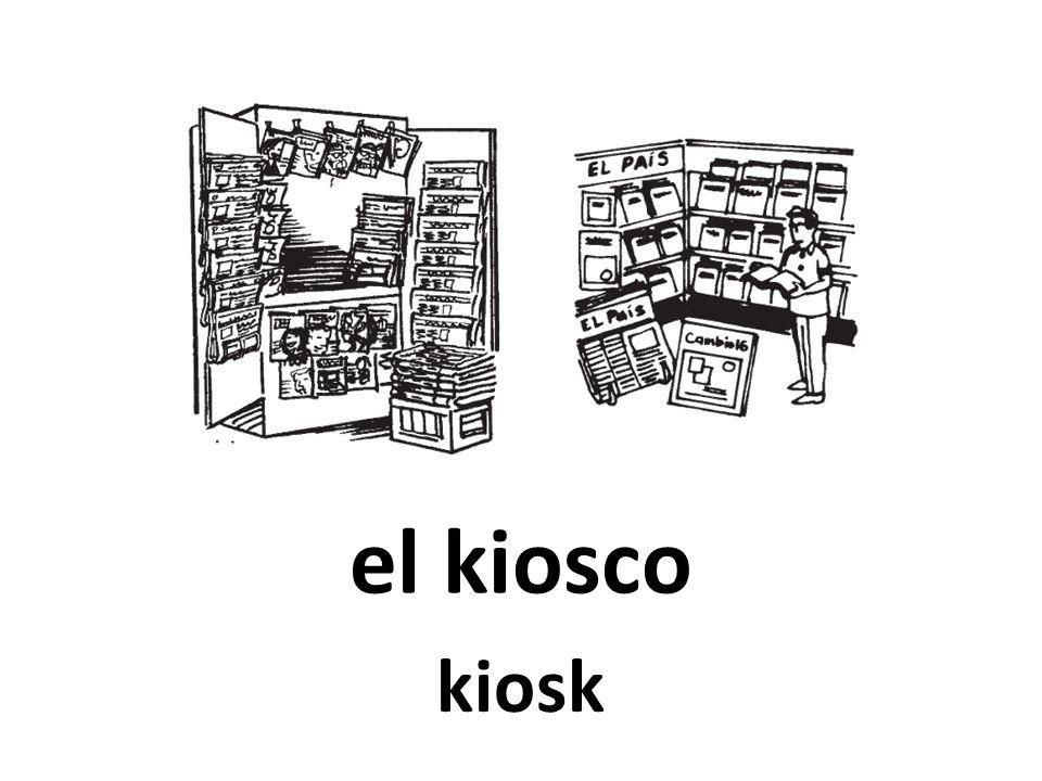 el kiosco kiosk