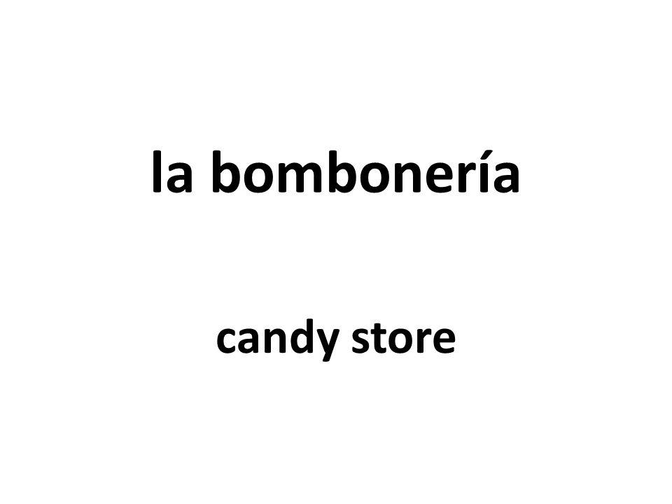 la bombonería candy store