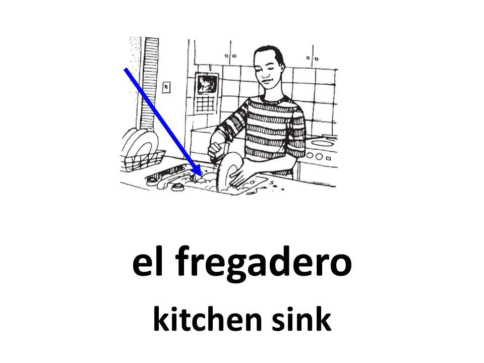 el fregadero kitchen sink