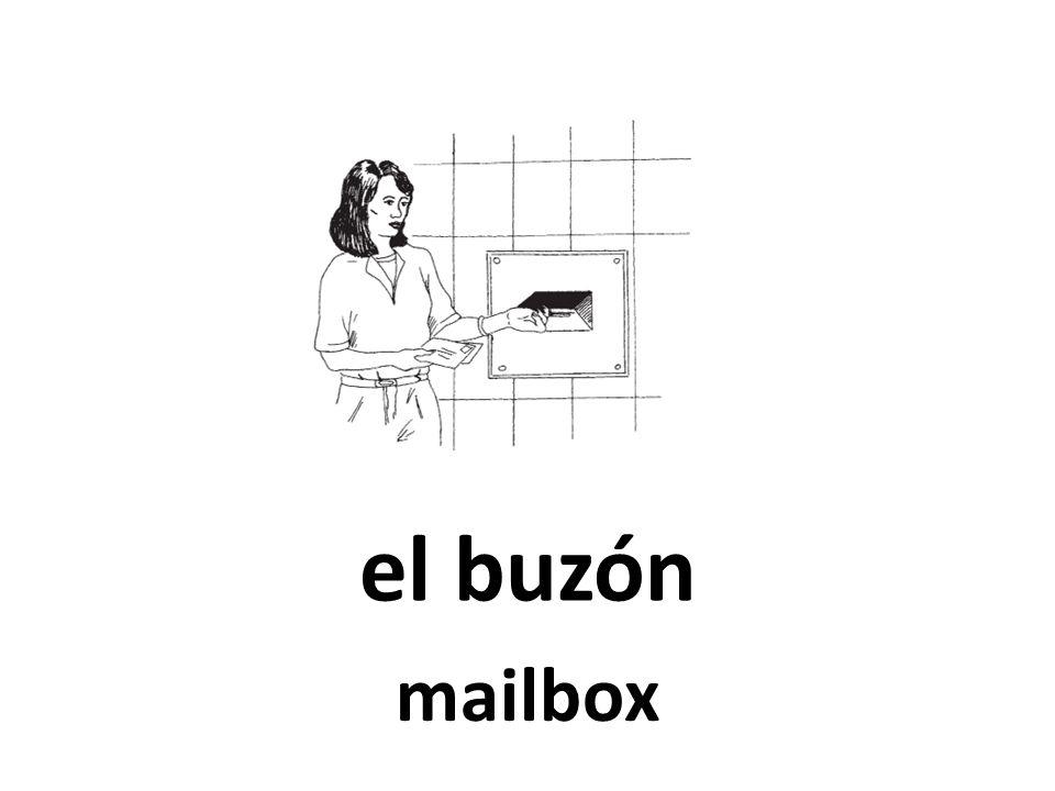 el buzón mailbox
