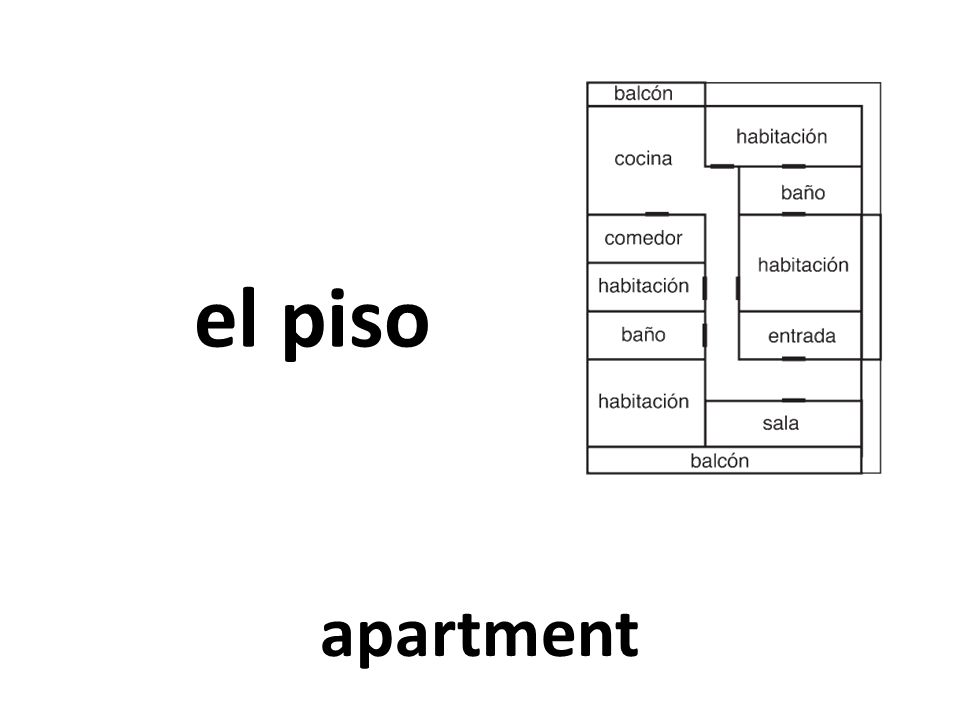 el piso apartment
