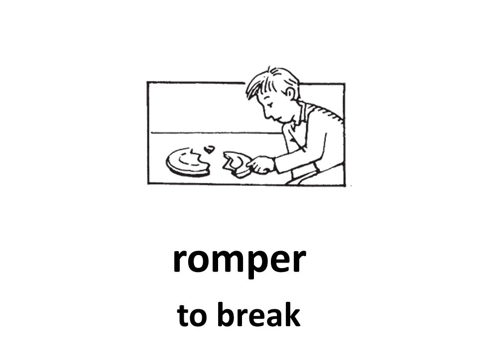romper to break