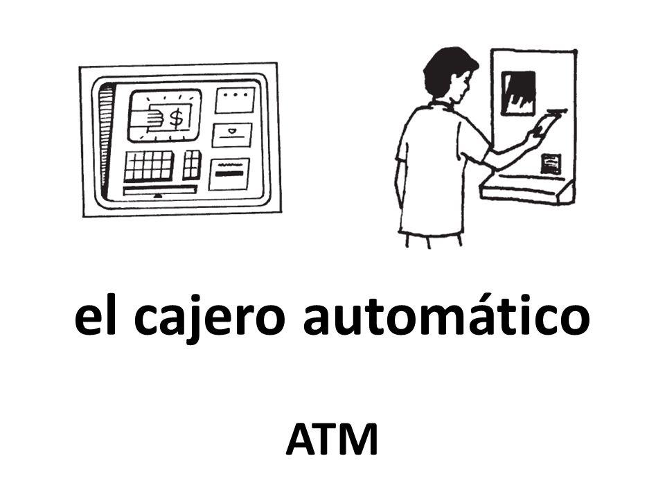 el cajero automático ATM