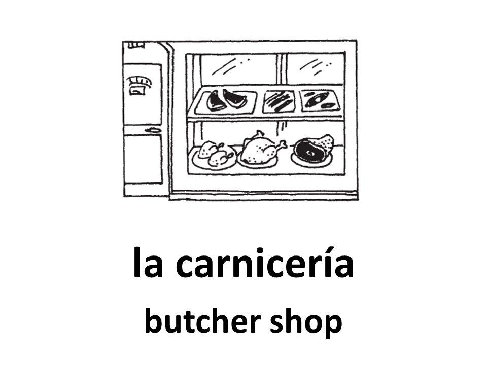la carnicería butcher shop