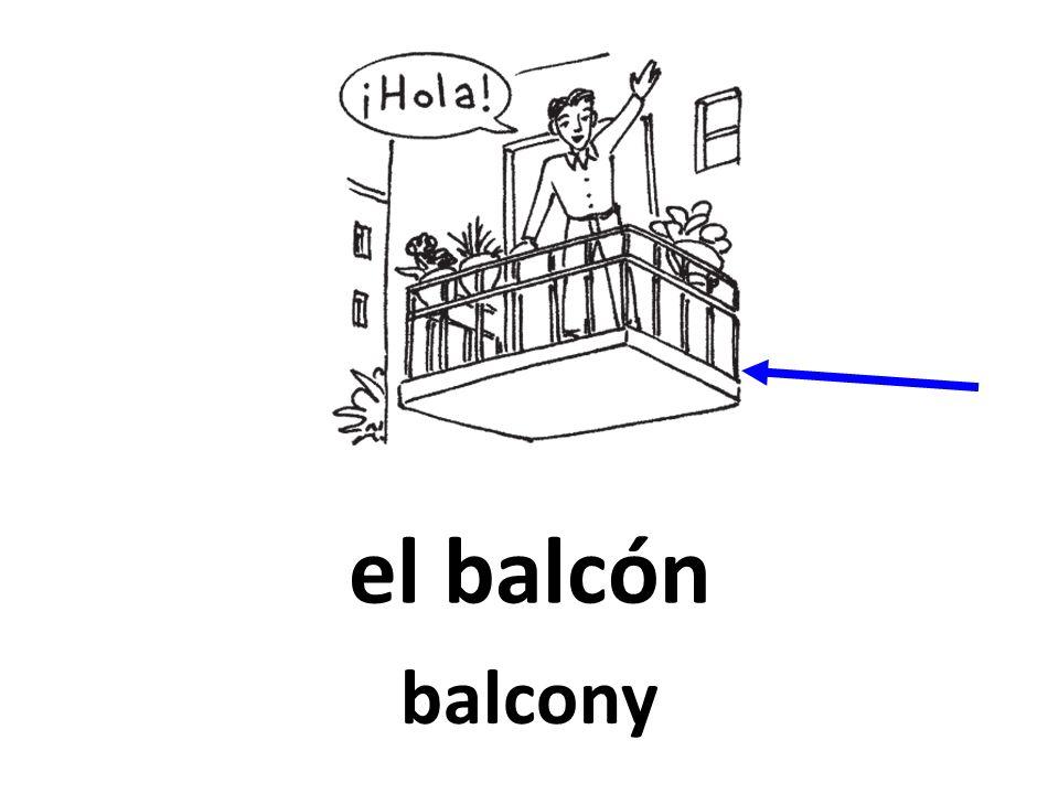 el balcón balcony
