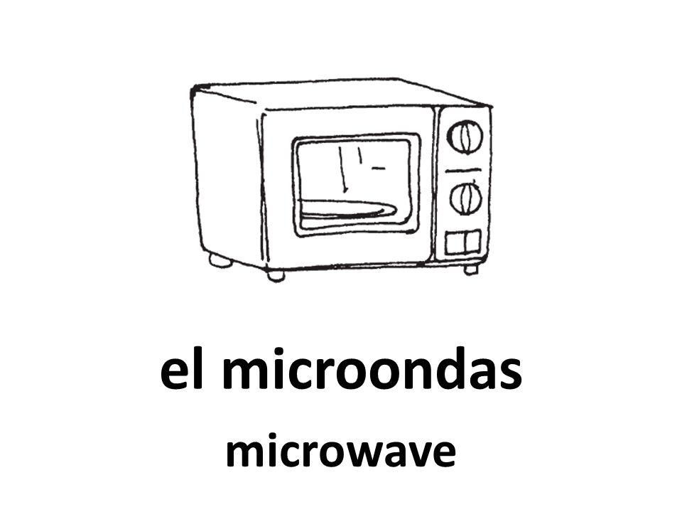 el microondas microwave