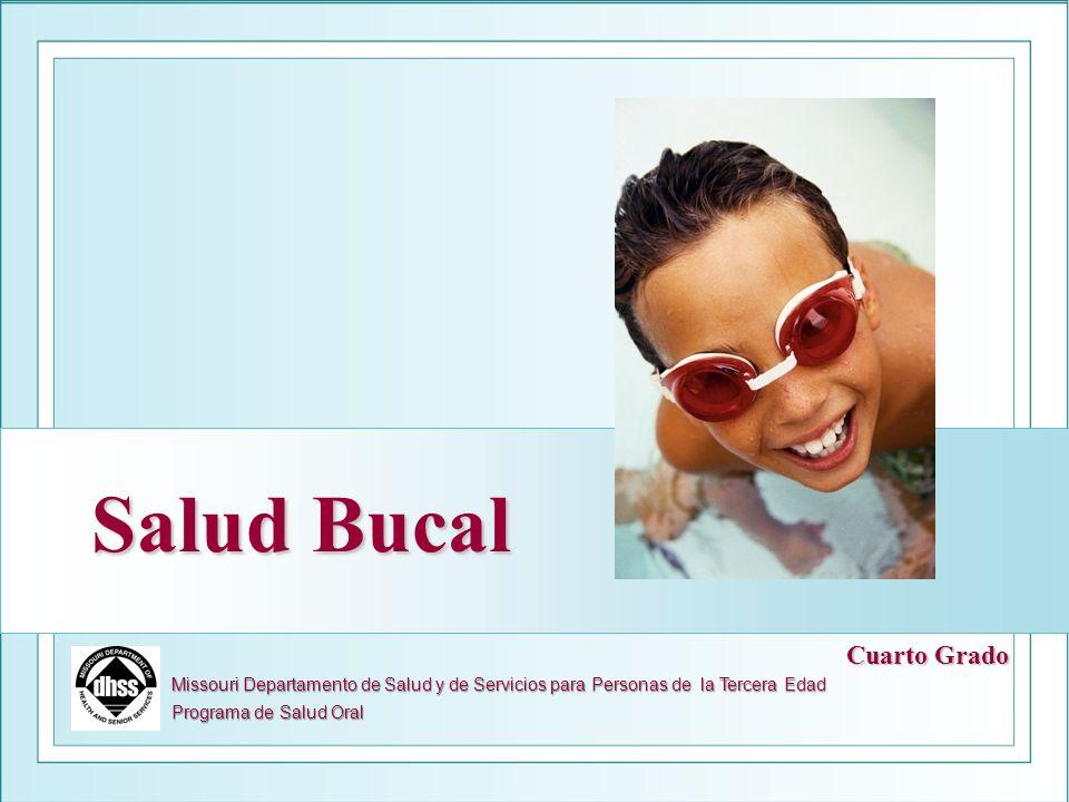 Salud Bucal Missouri Departamento de Salud y de Servicios para Personas de la Tercera Edad Programa de Salud Oral Cuarto Grado