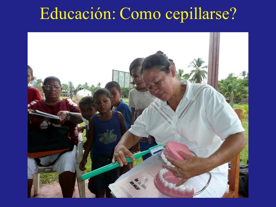 Educación: Como cepillarse?