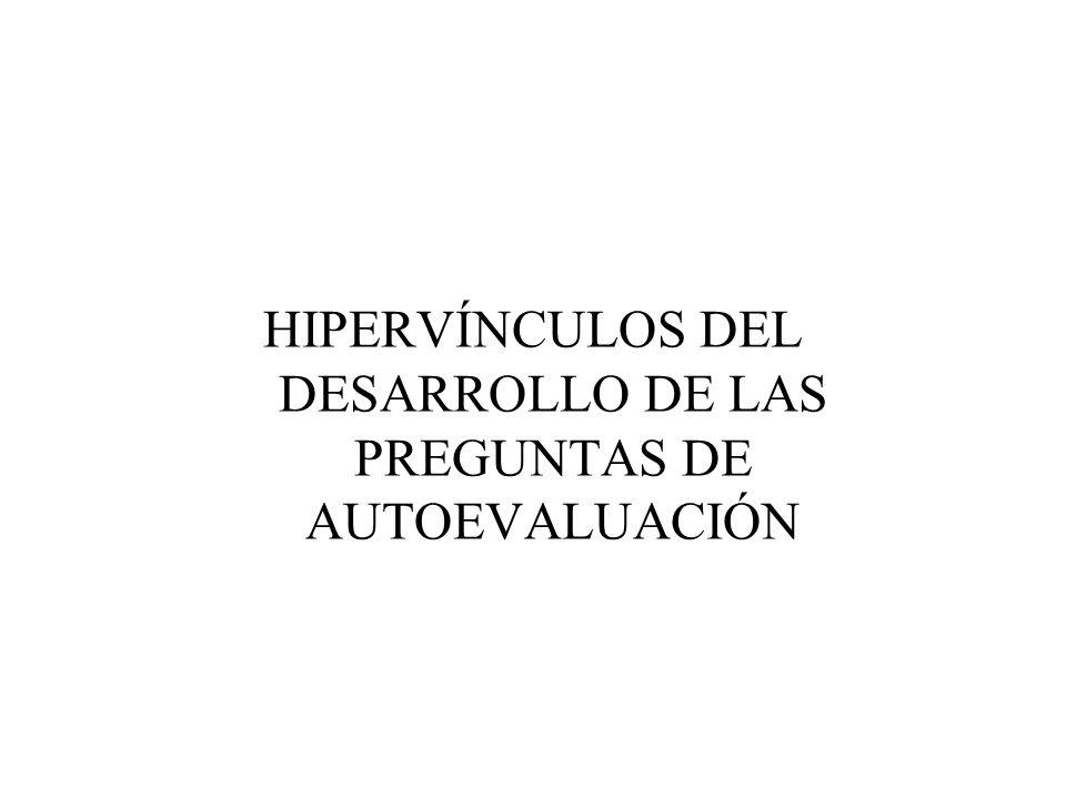HIPERVÍNCULOS DEL DESARROLLO DE LAS PREGUNTAS DE AUTOEVALUACIÓN