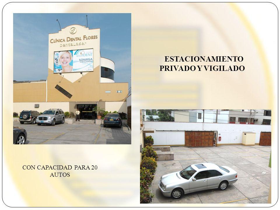 ESTACIONAMIENTO PRIVADO Y VIGILADO CON CAPACIDAD PARA 20 AUTOS