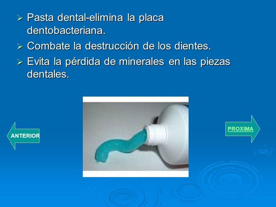 INSTRUMENTOS PARA LA LIMPIEZA BUCAL Cepillo de dientes- usados para eliminar residuos de alimentos y evitar una enfermedad en nuestros dientes. Cepill
